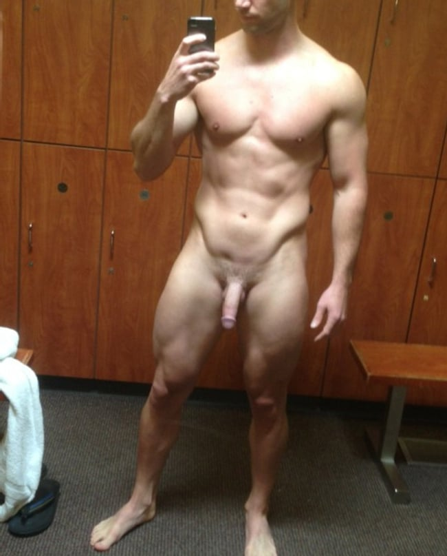 Nude Man With Lovely Cock