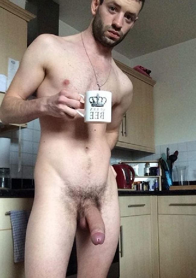 Nude Man Large Cock