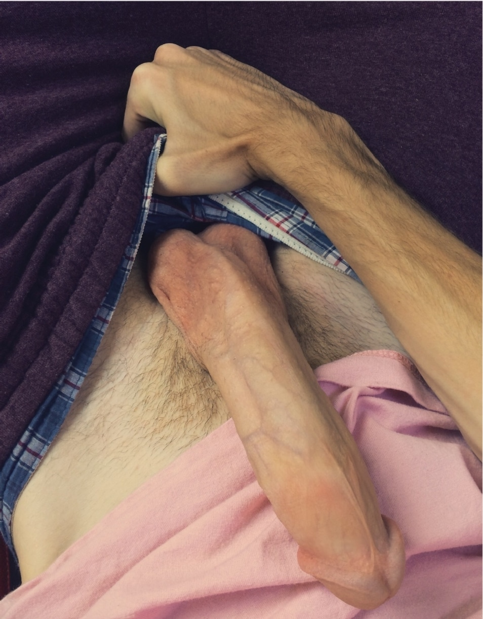 Big Thick Sexy Boy Pulls On His Dick